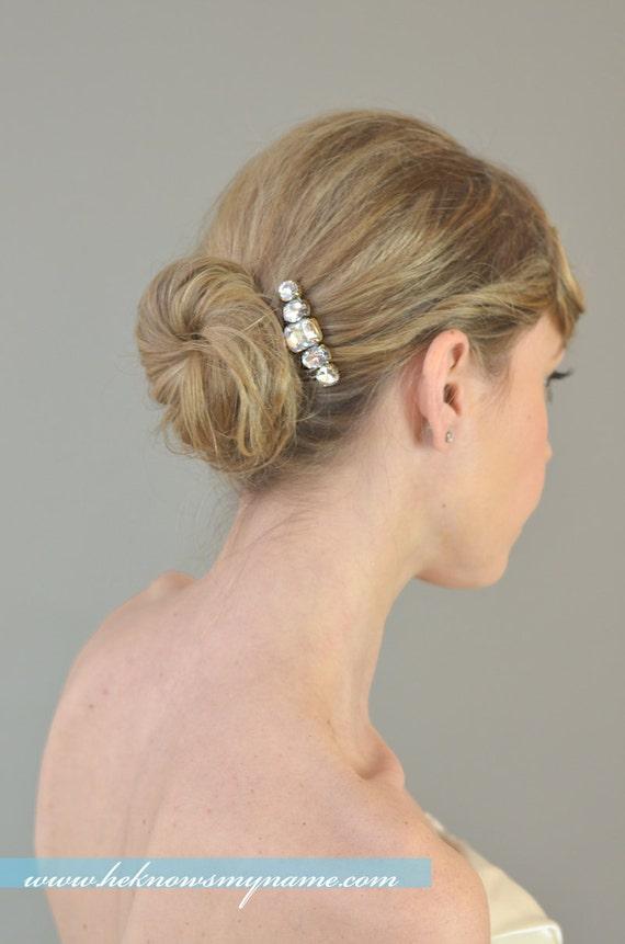 Weddings Accessories Bridal Hair Comb, Red Carpet  - crystal, rhinestone, art deco, art nouveau, 1920