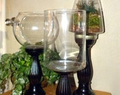 Design your own glass & Wooden Terrarium-Glass vase-Wedding centerpiece