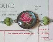FLEUR - Vintage and New Assemblage Bracelet