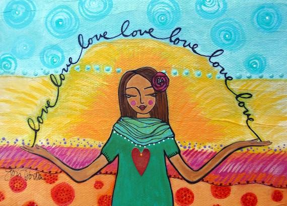 greeting card : self-love