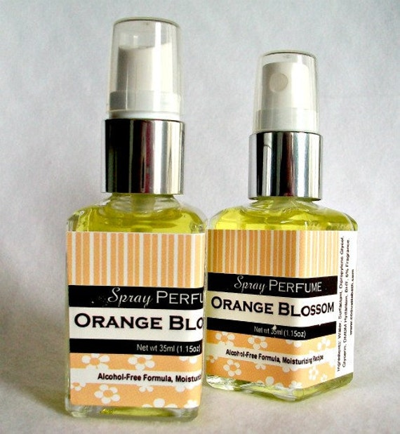 Fragrance Orange Blossom Perfume: SALE Orange Blossom Spray Perfume Delicate Floral By CoquetteBath