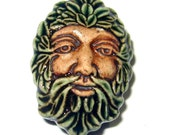 Clay Tree Man Bead (1)