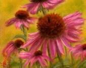 Cone Flowers - Original Pastel