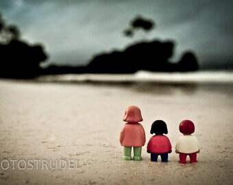 The Three Photograph. Three go to Boracay Beach, the Philippines. 8x12
