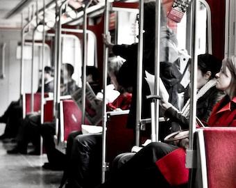 Toronto Fine Art Photograph. Toronto Subway 8x12