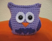 Purple Passion Owl