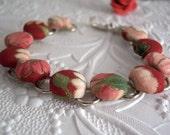 Passionate Bloom Button Bracelet