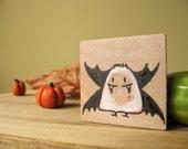 Vampire Henry - Wooden Magnet