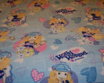 Holly Hobbie and Friends Fleece Blanket