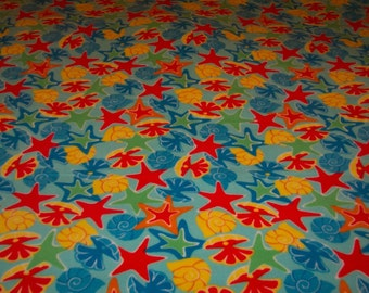 Sea Shells Large Fleece Blanket