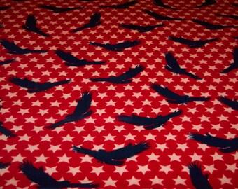 Patriotic Fleece Throw Blanket