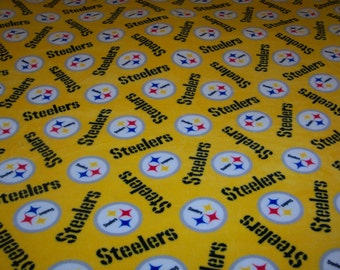 Pittsburgh Steelers Large Fleece Blanket