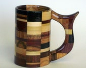 Too Much Fun Functional Wooden Mug