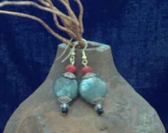 Labradorite Earrings for Pierced Ears