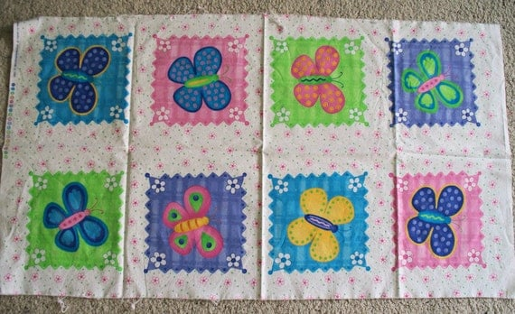 Butterfly Fling Fabric Panel And Pieces By Quiltsewpieceful