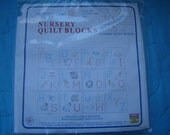 Nursery Quilt Blocks to Embroider
