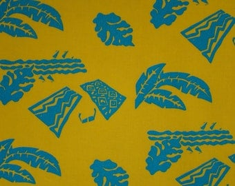 Hawaiian Block Print