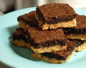 Chocolate Peanut Butter Brownies FREE shipping