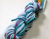 Recycled Tee Shirt Yarn, Varigated Jewels