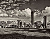 "Gas Works Park (Looking East) - 9"" x 13""Giclée Fine Art Photograph printed on Moab Entrada Fine Art RAG 300 gsm Natural White paper"