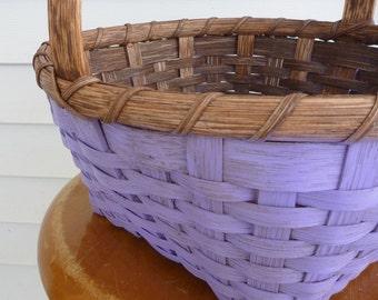 Painted Easter Basket - Lavender