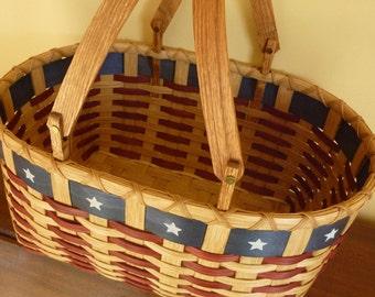 Patriot Picnic Basket