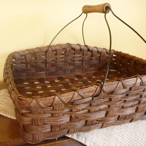 Basket Weaving Kits : Casserole carrier basket weaving kit