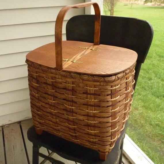 Lidded Storage Basket