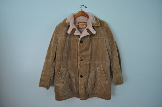 mens vintage corduroy jacket 50s 60s