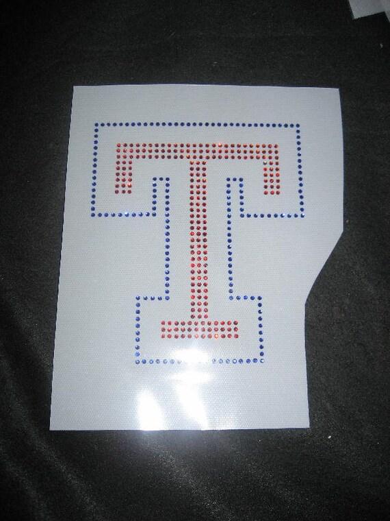 Texas Rangers T Iron on