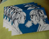 I Eat Clouds Postcards
