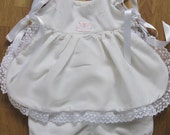 Beautiful White Sun outfit for Baby Girl