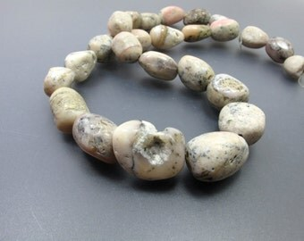 Peruvian Pink Opal Organic Rugged Nugget YP3259