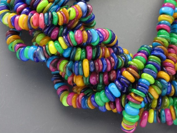 Rainbow Colors Shell Disc YS3275