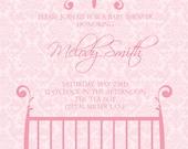 Melody- Custom Baby Shower Invitation