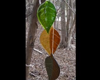 3 Leaf Fused Leaf Wind Chime