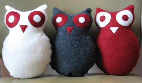 VEGAN FRIENDLY Felt Owls
