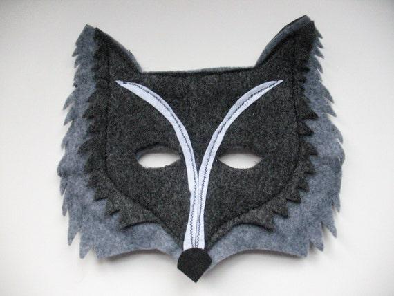 Woodland Wolf Mask