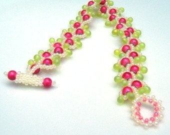 In the Pink Beaded Bracelet