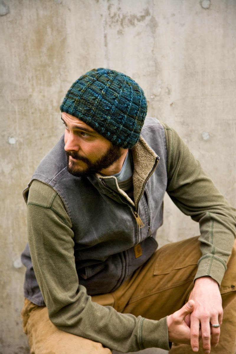 Free Knitting Patterns For Action Man Dolls : Knitting Pattern for Mens Hat J.T. by Woolibear on Etsy
