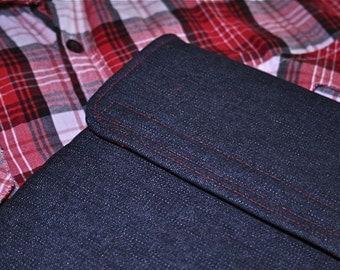 "13"" MacBook AIR sleeve / MacBook 13 Air case / 11"" MacBook AIR sleeve / MacBook Air case / MacBook cover  - Denim"