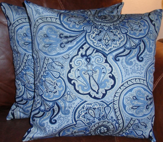 Throw Pillow removable cover 16x16 Set of 2 sewn with