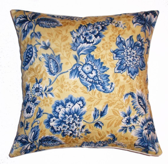 Throw Pillow With Removable Cover : Throw Pillow 16x16 Removable cover sewn with a by PersnicketyHome
