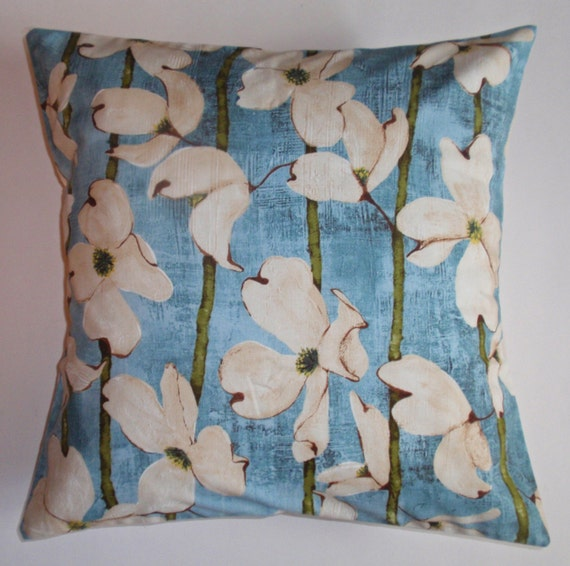 Throw Pillow 16x16 Removable cover sewn with Laura Gunn s