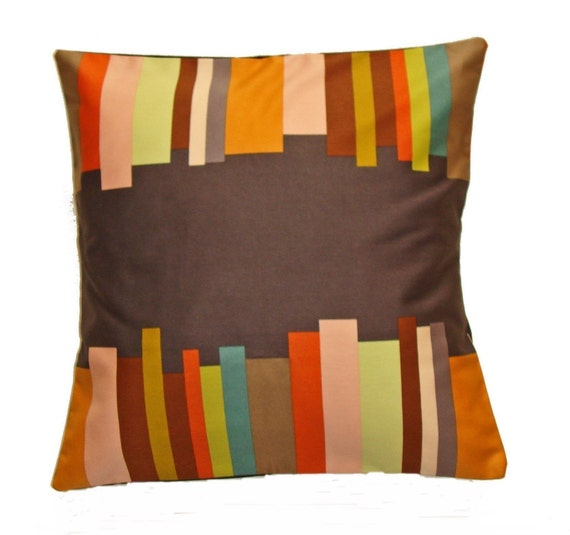 Throw Pillow With Removable Cover : HOLIDAY SALE Throw Pillow 18x18 Removable cover sewn with Anna