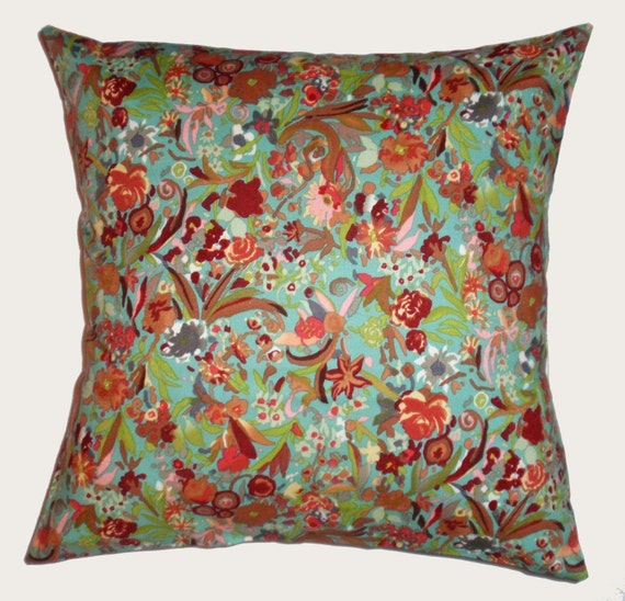 Throw Pillow 16X16 Removable cover sewn with by PersnicketyHome
