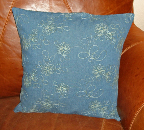 Inventory Reduction SALE Throw Pillow 18X18 Removable cover