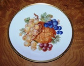 Bavarian Serving  Plate For  Cheese Pates Terrines Fruit Desserts Crackers Madelines