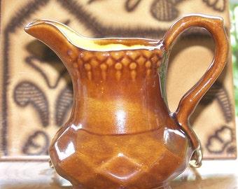 Vibrantly Glazed Classically Shaped Urn Creamer