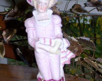 Dandy Rose Chalkware Figurine For  A Myriad of Uses
